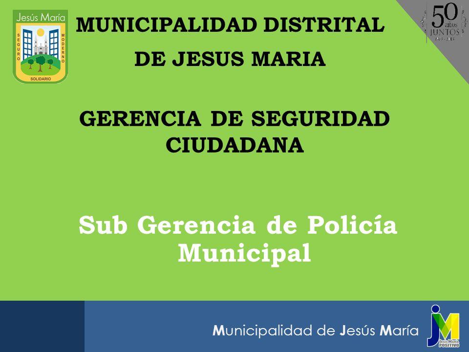 Sub Gerencia de Policía Municipal