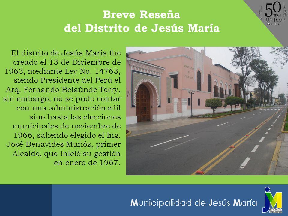 del Distrito de Jesús María