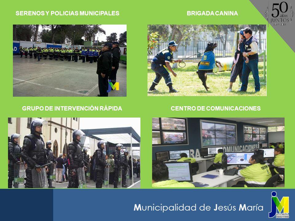 SERENOS Y POLICIAS MUNICIPALES BRIGADA CANINA