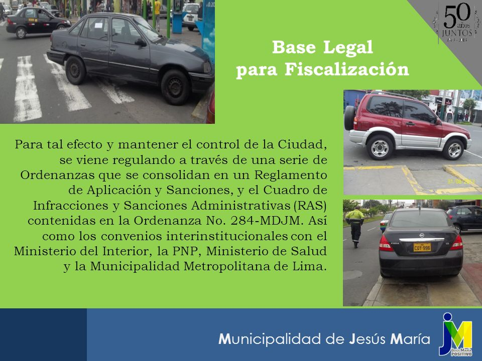 Base Legal para Fiscalización