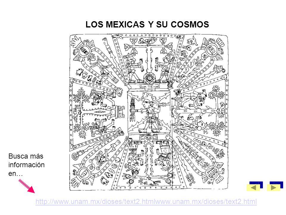 LOS MEXICAS Y SU COSMOS Busca más información en…