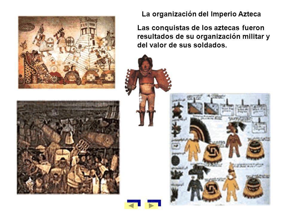 La organización del Imperio Azteca
