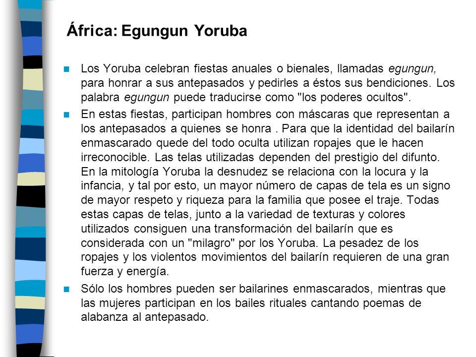 África: Egungun Yoruba
