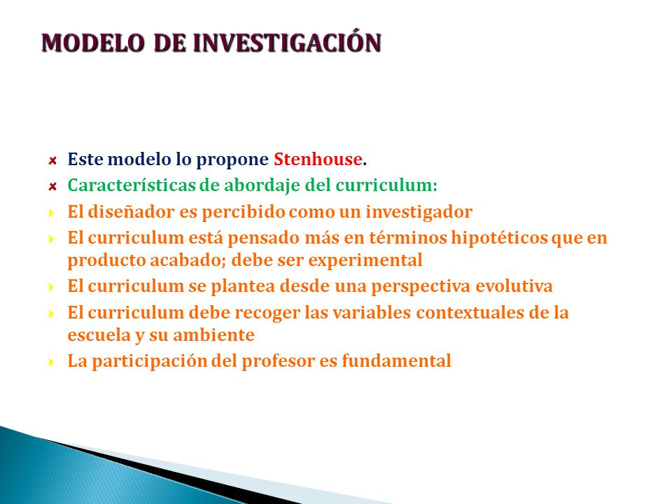 MODELO DE INVESTIGACIÓN