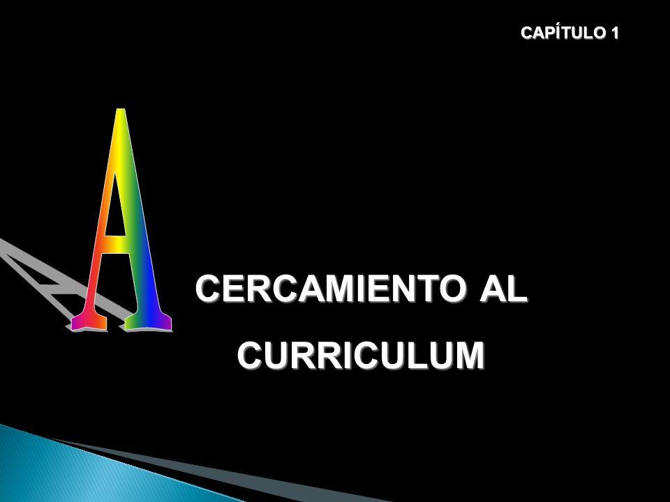 CAPÍTULO 1 A CERCAMIENTO AL CURRICULUM