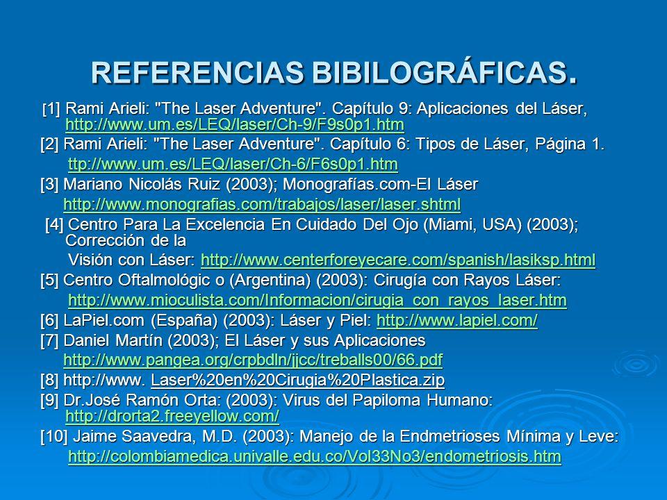 REFERENCIAS BIBILOGRÁFICAS.