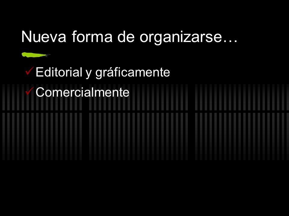 Nueva forma de organizarse…