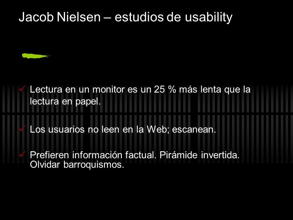 Jacob Nielsen – estudios de usability