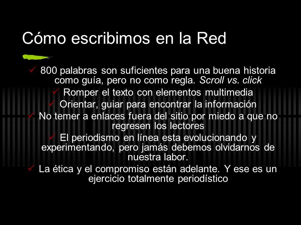 Cómo escribimos en la Red