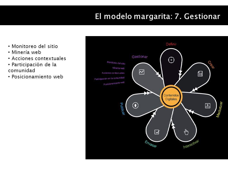 El modelo margarita: 7. Gestionar