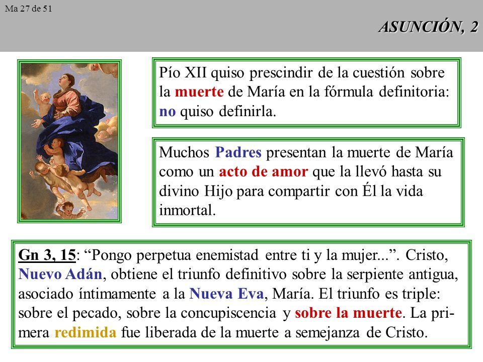 Pío XII quiso prescindir de la cuestión sobre