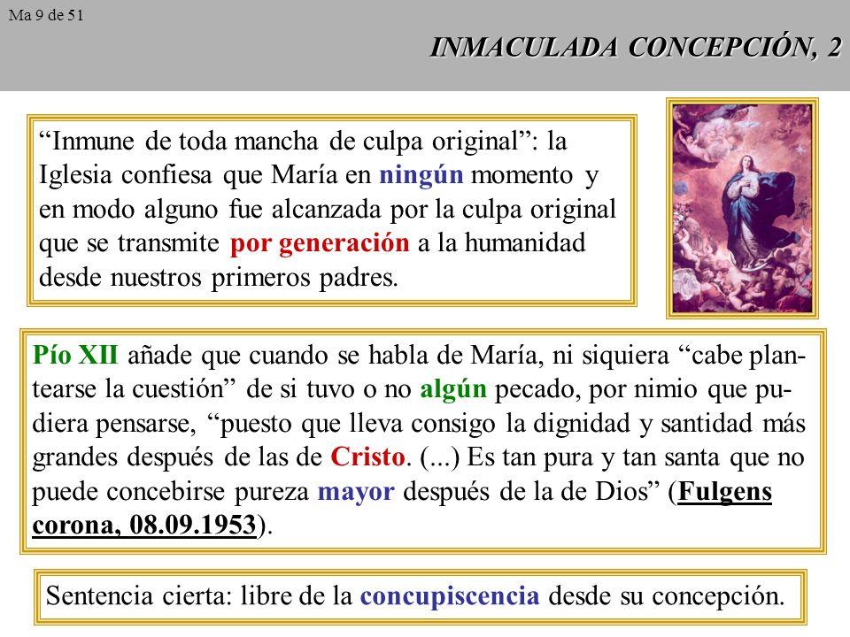 INMACULADA CONCEPCIÓN, 2