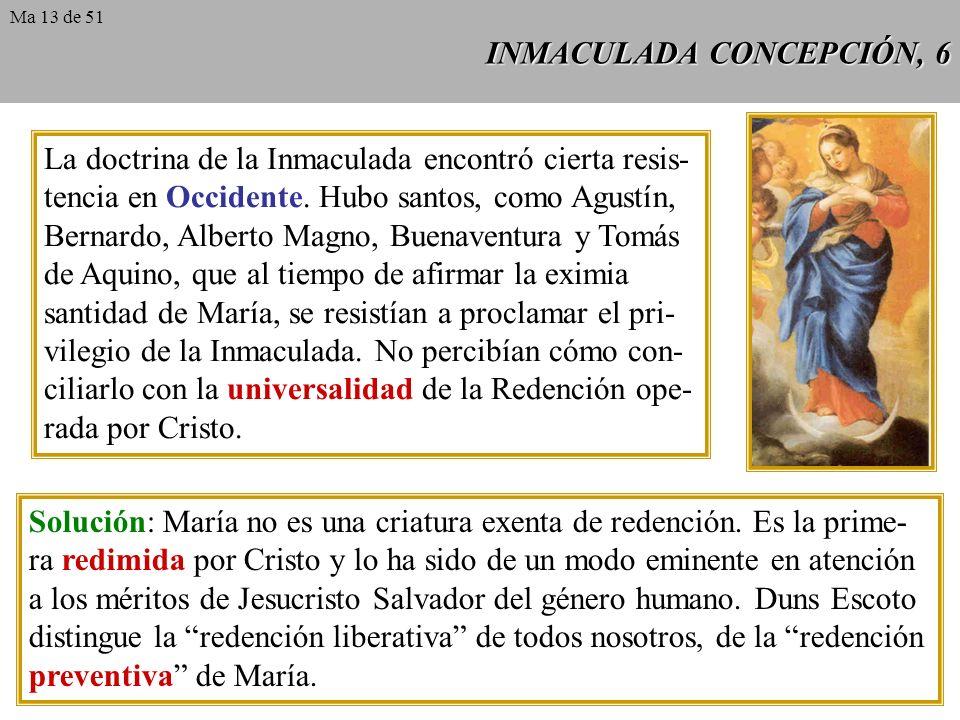 INMACULADA CONCEPCIÓN, 6