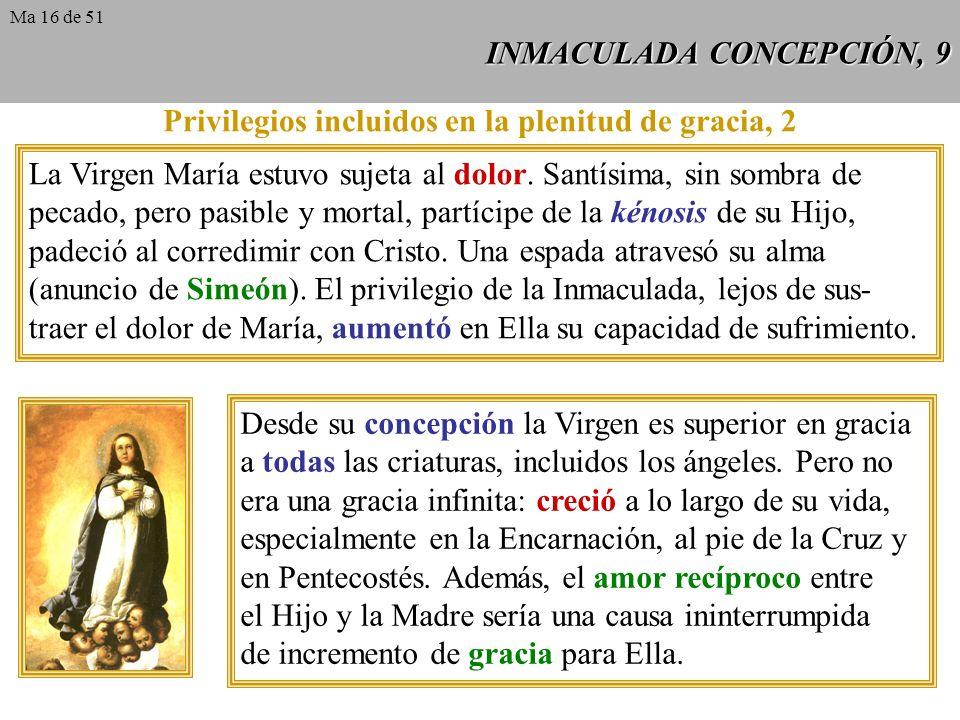 INMACULADA CONCEPCIÓN, 9