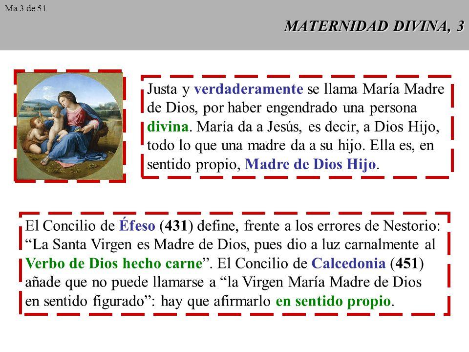 Justa y verdaderamente se llama María Madre