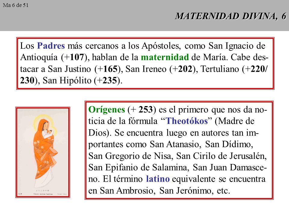 Los Padres más cercanos a los Apóstoles, como San Ignacio de