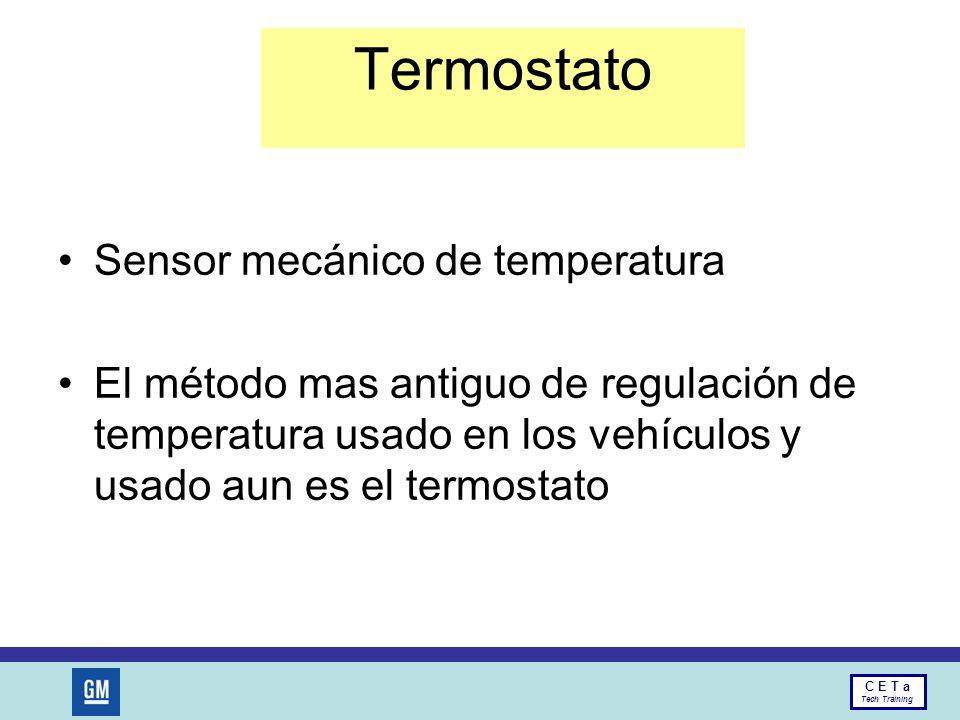 Termostato Sensor mecánico de temperatura