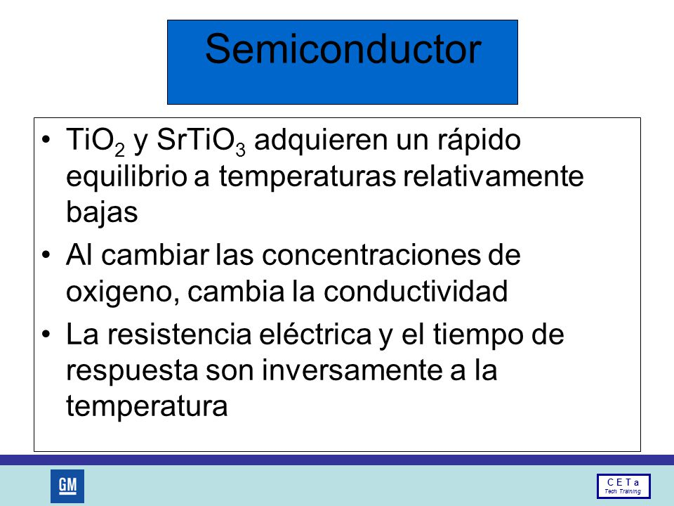 Semiconductor TiO2 y SrTiO3 adquieren un rápido equilibrio a temperaturas relativamente bajas.