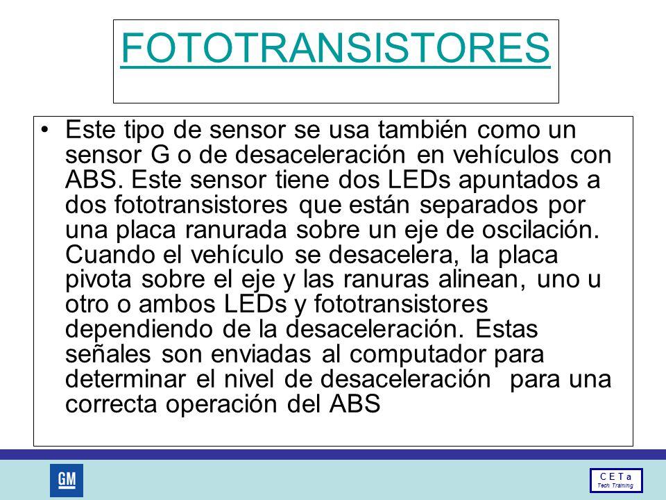 FOTOTRANSISTORES