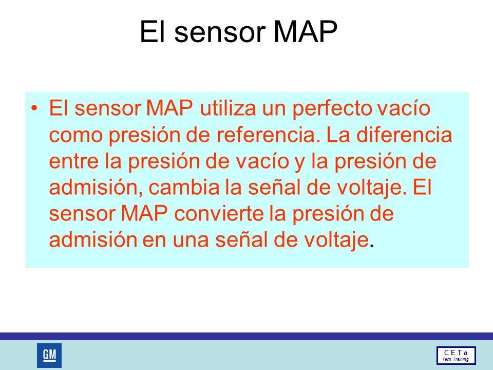 El sensor MAP