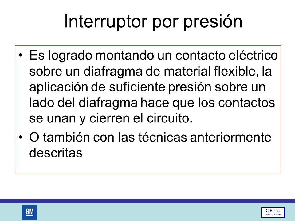 Interruptor por presión