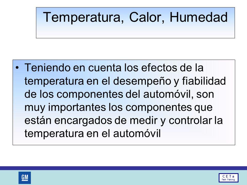 Temperatura, Calor, Humedad