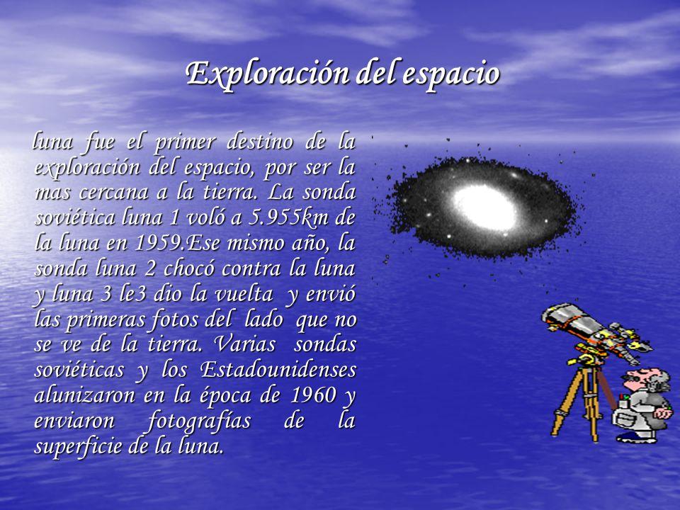 Exploración del espacio