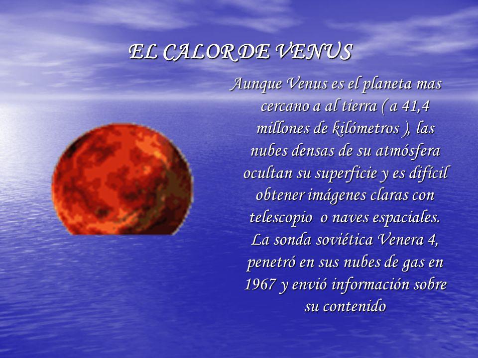 EL CALOR DE VENUS