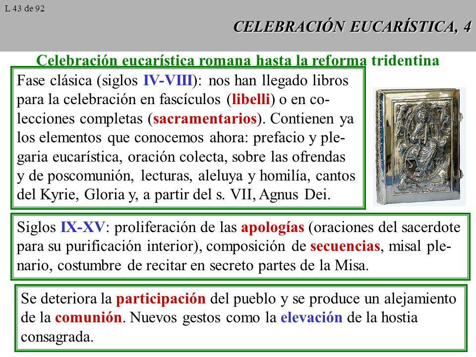 CELEBRACIÓN EUCARÍSTICA, 4