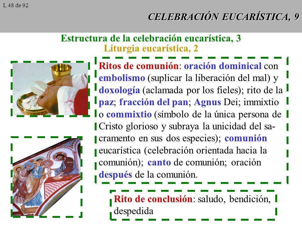 CELEBRACIÓN EUCARÍSTICA, 9