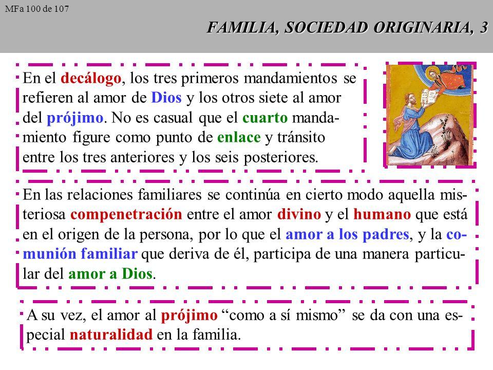 FAMILIA, SOCIEDAD ORIGINARIA, 3