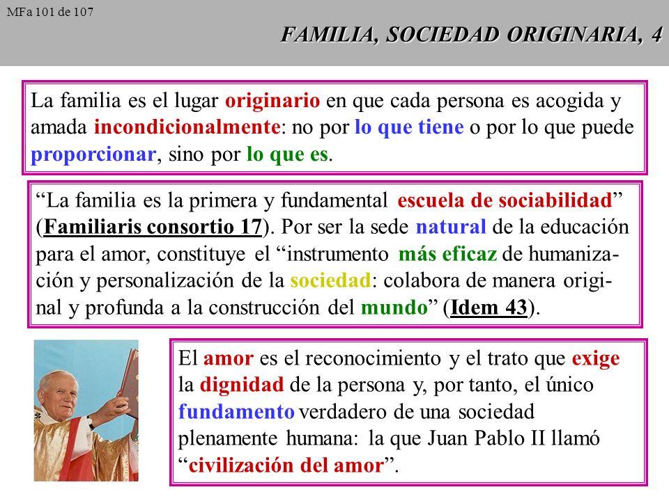 FAMILIA, SOCIEDAD ORIGINARIA, 4