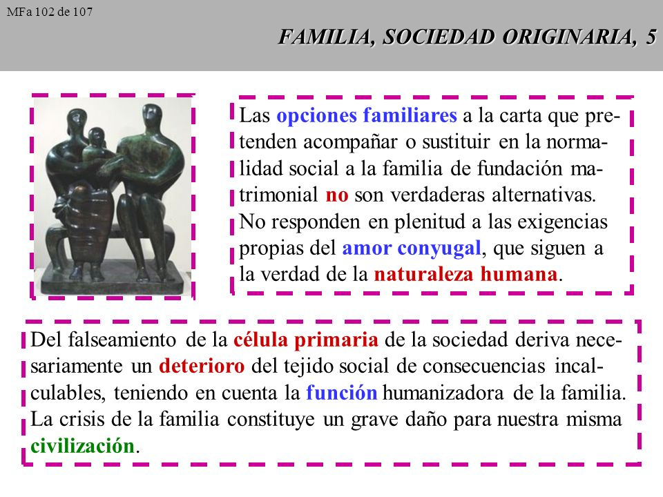 FAMILIA, SOCIEDAD ORIGINARIA, 5