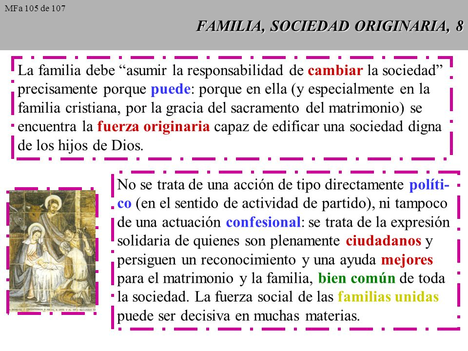 FAMILIA, SOCIEDAD ORIGINARIA, 8
