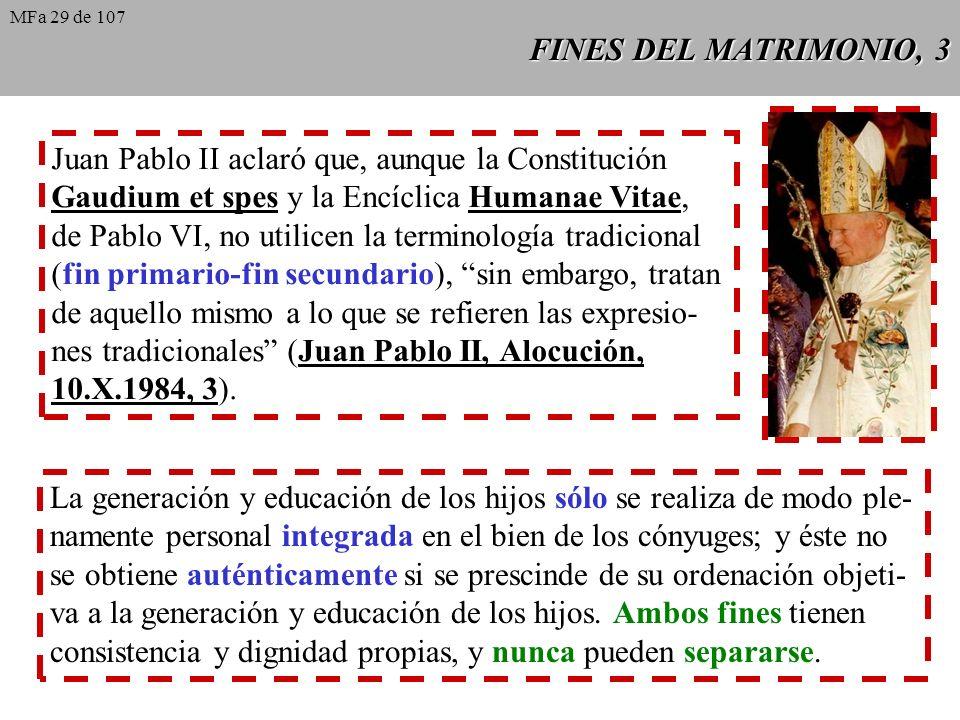 Juan Pablo II aclaró que, aunque la Constitución