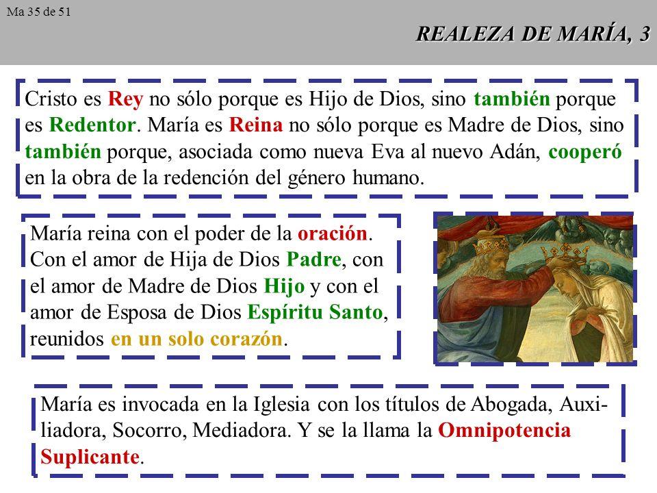 Cristo es Rey no sólo porque es Hijo de Dios, sino también porque
