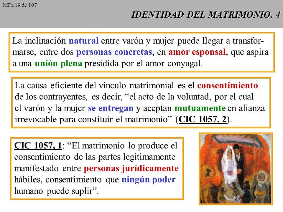 IDENTIDAD DEL MATRIMONIO, 4