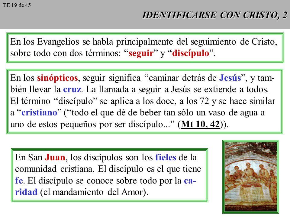 IDENTIFICARSE CON CRISTO, 2