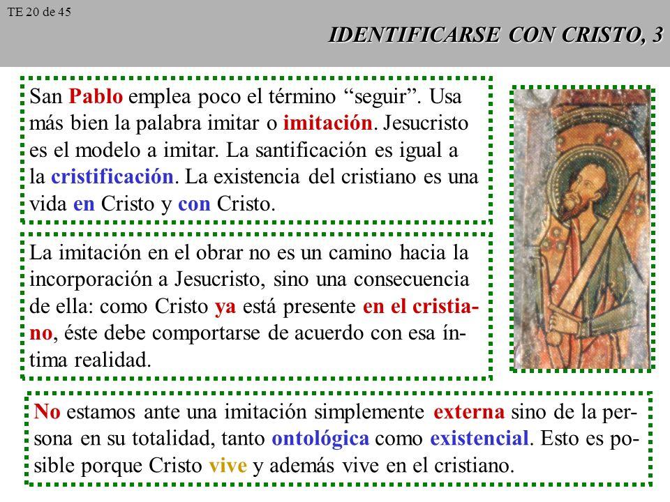 IDENTIFICARSE CON CRISTO, 3