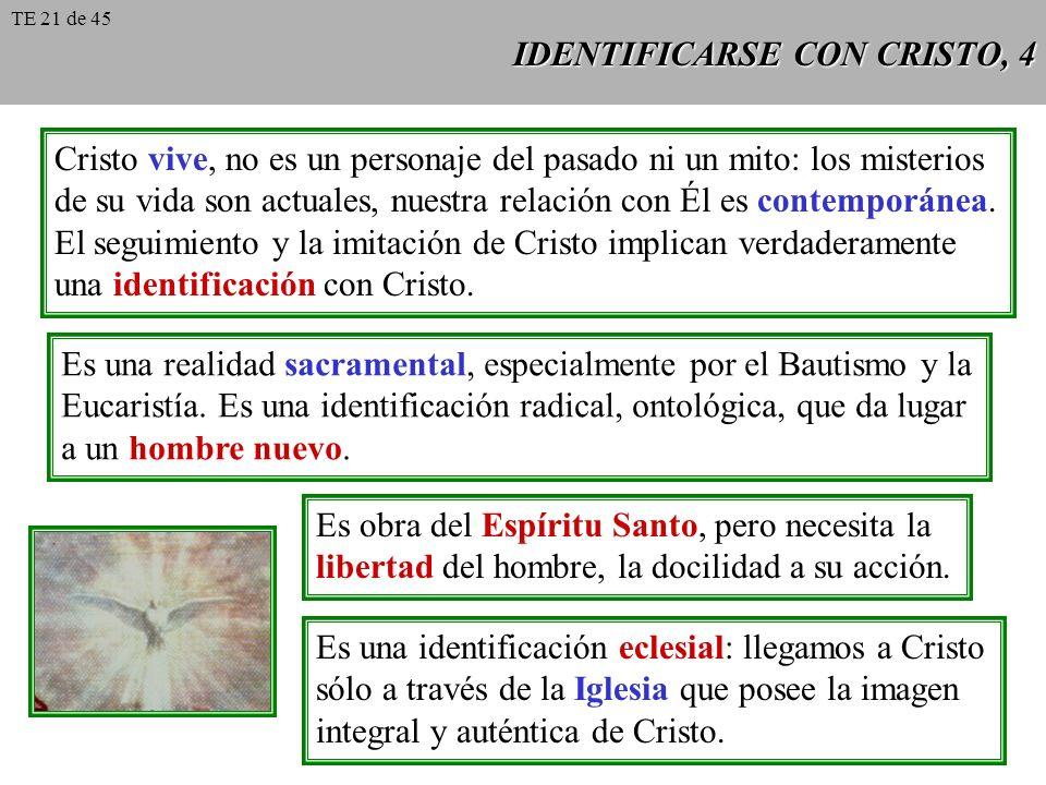 IDENTIFICARSE CON CRISTO, 4