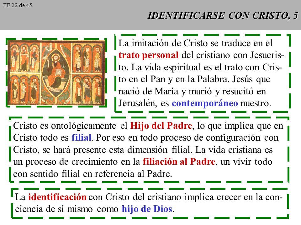 IDENTIFICARSE CON CRISTO, 5