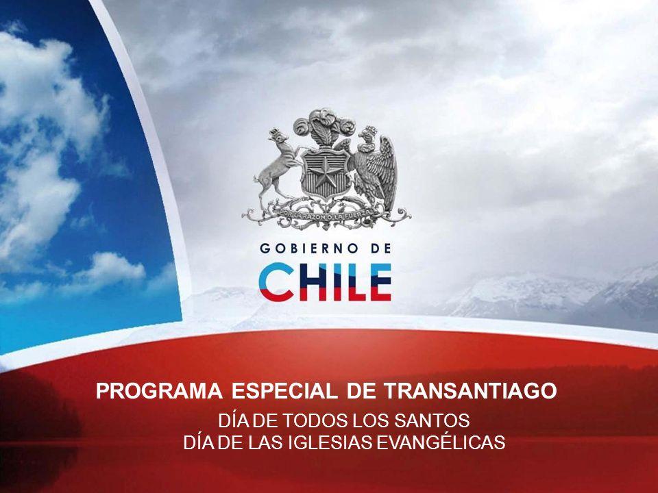 PROGRAMA ESPECIAL DE TRANSANTIAGO