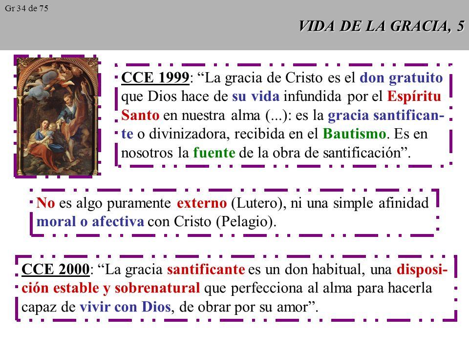CCE 1999: La gracia de Cristo es el don gratuito