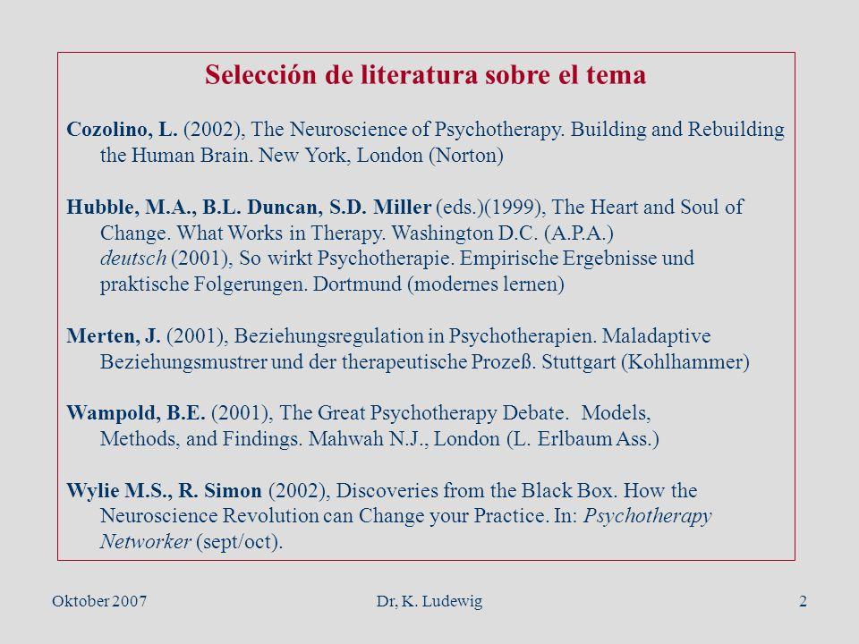 Selección de literatura sobre el tema
