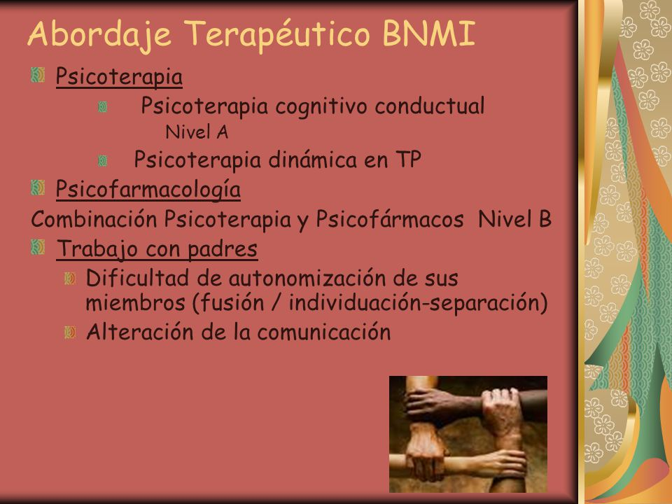 Abordaje Terapéutico BNMI