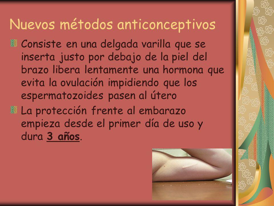 Nuevos métodos anticonceptivos