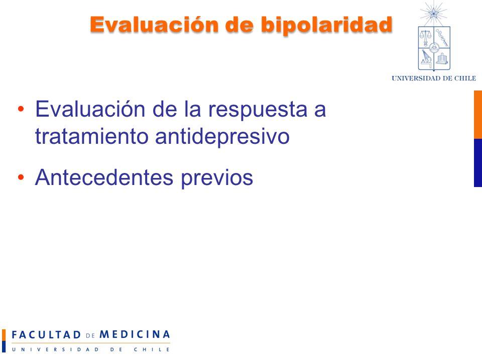 Evaluación de bipolaridad