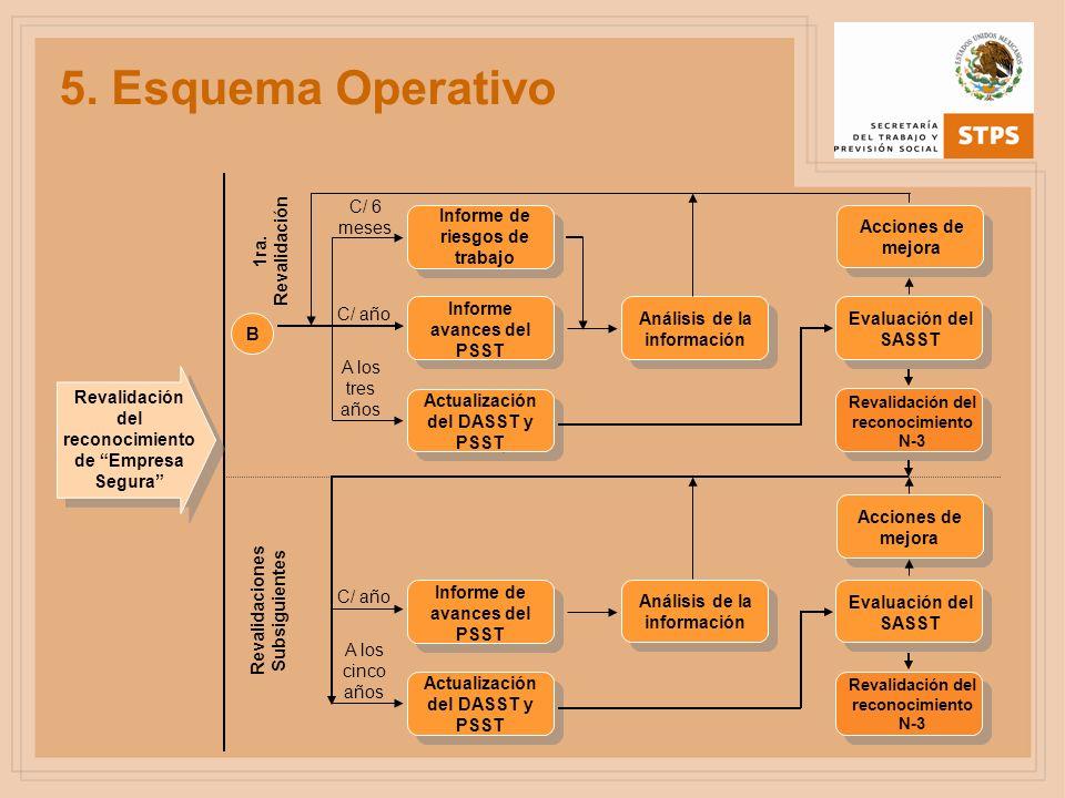 5. Esquema Operativo Actualización del DASST y PSST