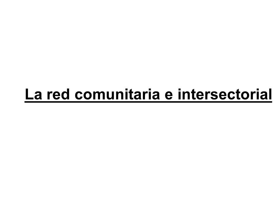 La red comunitaria e intersectorial