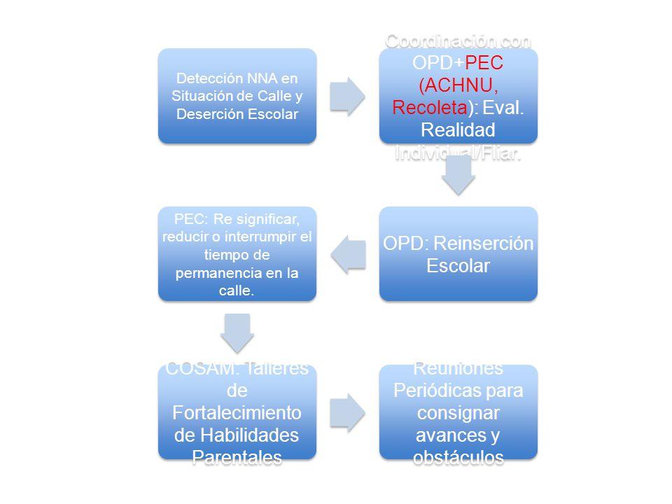 OPD: Reinserción Escolar